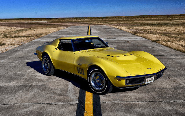Wallpapers 1969 Chevrolet Corvette Stingray, Chevrolet