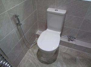 comment utiliser une douchette wc