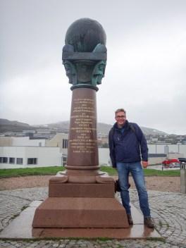 Denkmal in Hammerfest