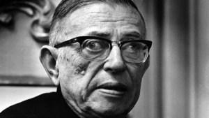 Sartre parlait de lecture comme personne, mais de là à le rendre beau...
