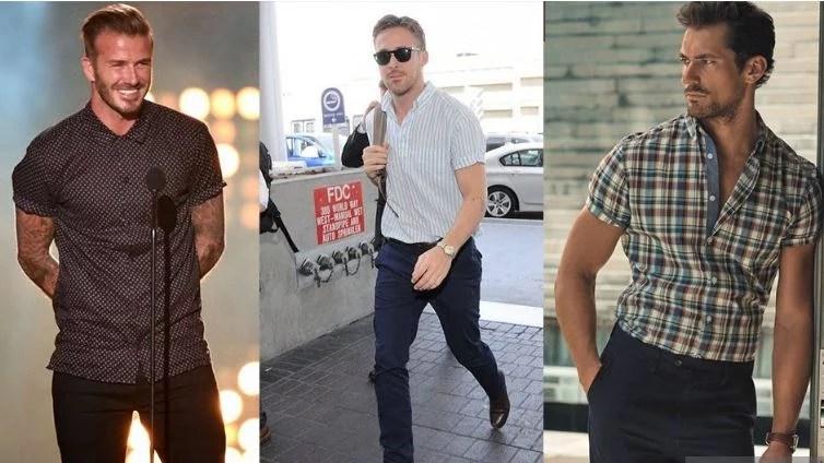 des stars portent la chemisette