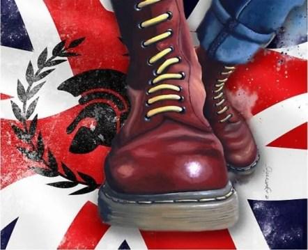 les fameuses chaussures skinhead, la paire de DOC