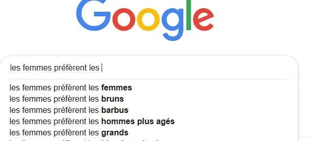 l'importance de la taille chez les femmes... sur google