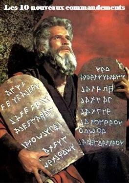 Les 10 nouveaux commandements