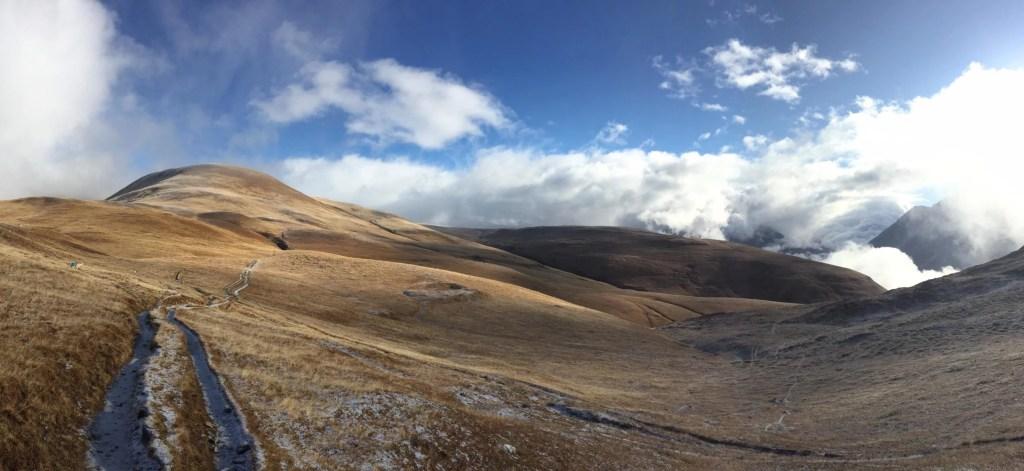 peu de neige pour skier sur cette photo... mais magnifique !