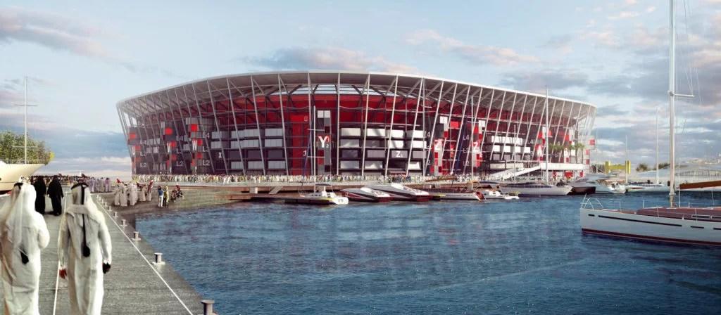 Stade démontable pour le Mondial de football 2022