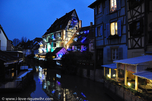 Little Venice in Colmar during the Christmas period