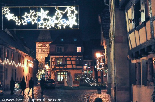 Vieux village de Bergheim, Alsace.