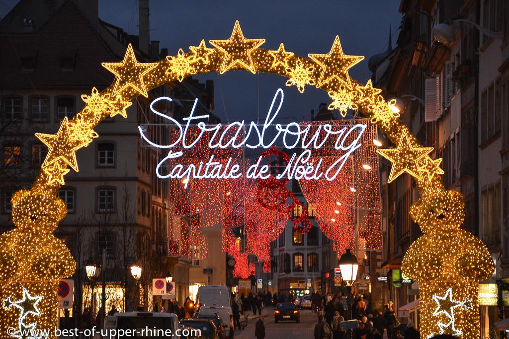 Strasbourg, capitale de Noël - marchés de Noël, illuminations et événements.