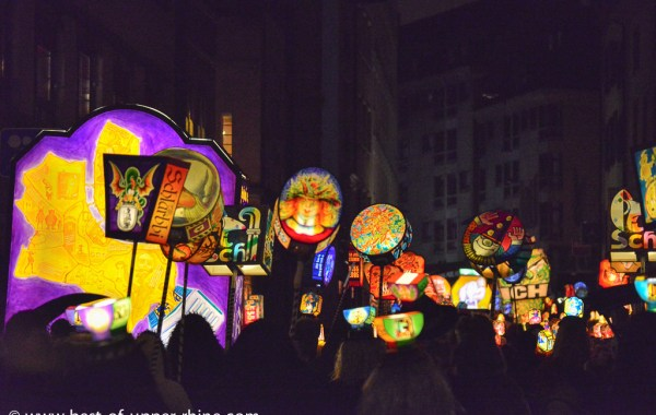 Lanternes du Morgenstreich - Carnaval de Bâle 2013