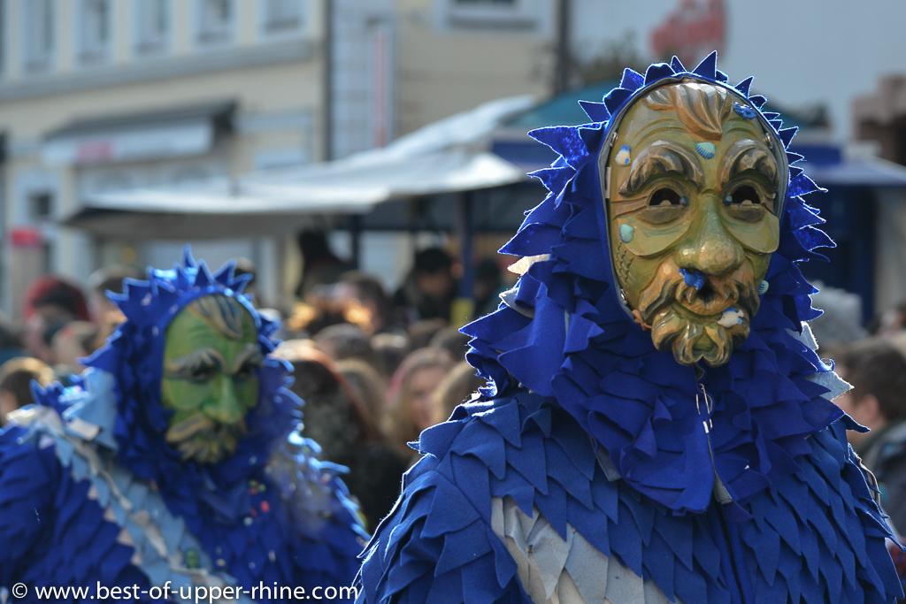 Défilé de Carnaval à Emmendingen près de Freiburg en Allemagne