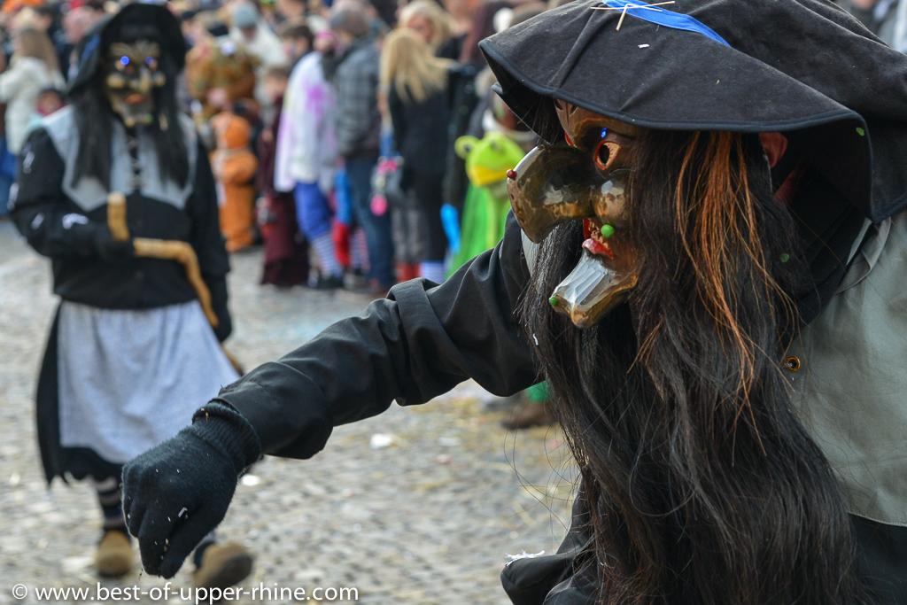 Carnaval à Emmendingen en Allemagne