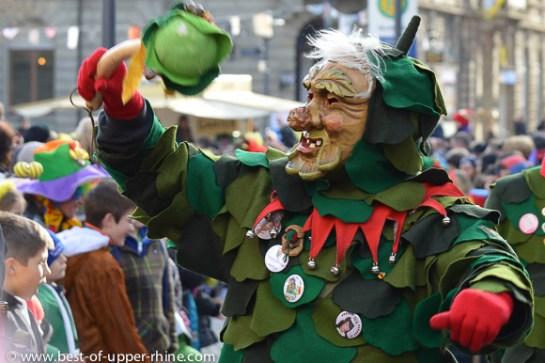 Homme des Bois, personnage de carnaval