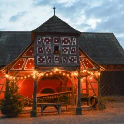 Une très belle ferme. Ecomusée d'Alsace.