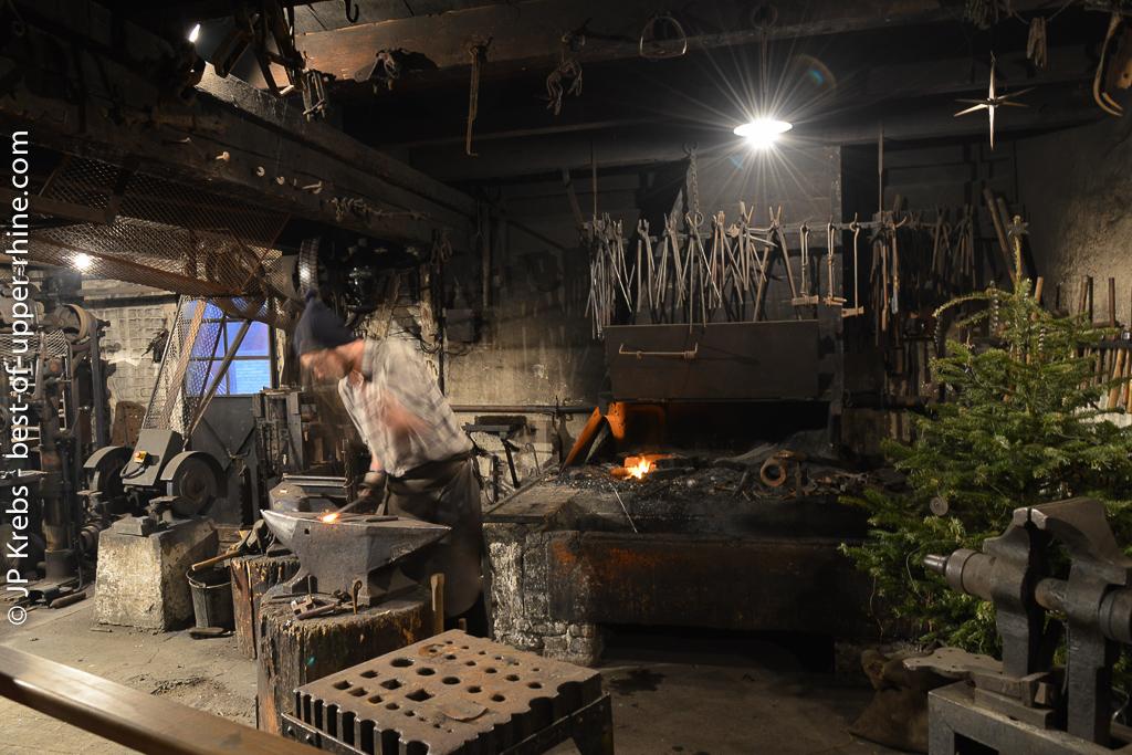 La forge... Ecomusée d'Alsace.