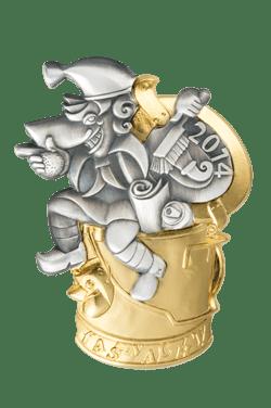L'insigne du Carnaval de Bâle 2014
