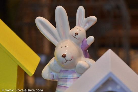 Le lièvre de Pâques en famille
