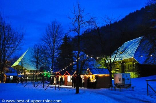 Ecomusée de la Forêt Noire à Gutach en Allemagne – Marché de Noël, une atmosphère très spéciale...