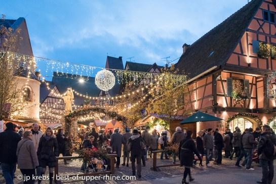 Marché de Noël d'Eguisheim