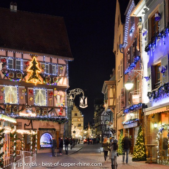 Lumières de Noël et mise en valeur du patrimoine font bon ménage à Colmar !