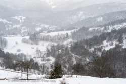 Les hivers furent très rigoureux sur la ligne de front des Vosges pendant la première guerre mondiale.