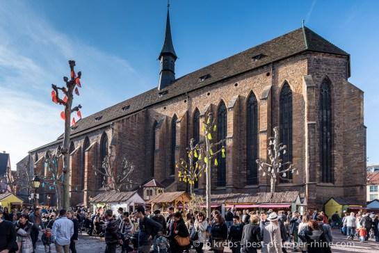 Marché de Pâques de la place des Dominicains à Colmar