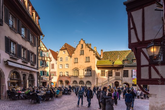 Rue des Marchands et Grand-Rue à Colmar