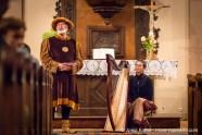 Daniel Ehret et la harpiste Marie-Madeleine Sigwart.
