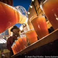Avec les Croqueurs de Pommes au marché de Noël médiéval de Ribeauvillé !
