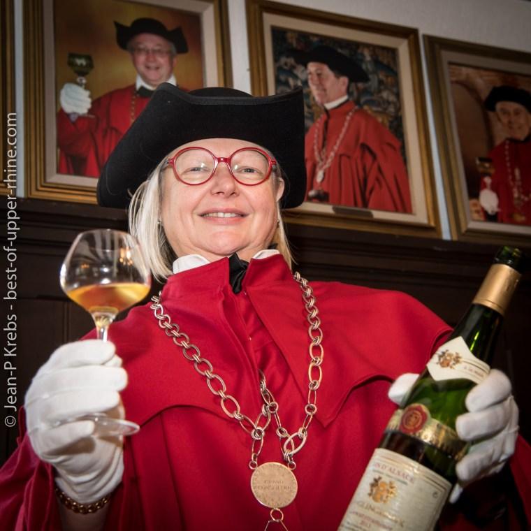 Martine Becker est le nouveau Grand Maître de la Confrérie Saint-Etienne d'Alsace