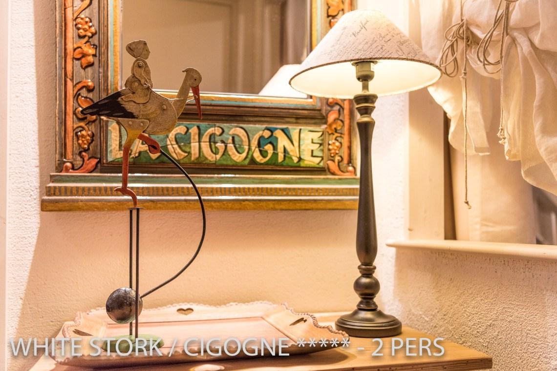La Cigogne à riquewihr - appartement 5 étoiles déco cigogne