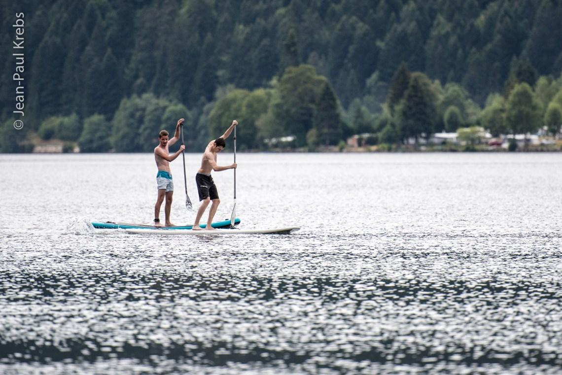 Paddle sur lac de Longemer