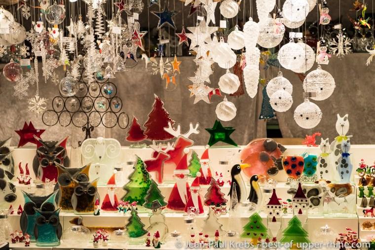 Au marché de Noël de Bâle.