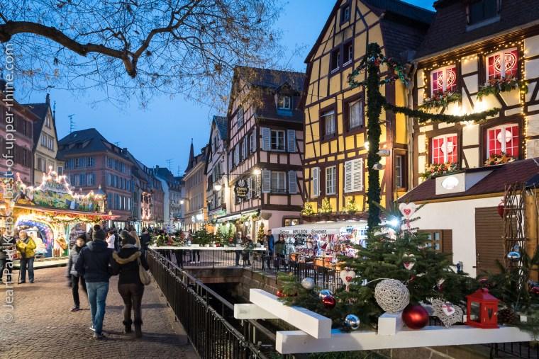 Colmar ville romantique au temps de Noël