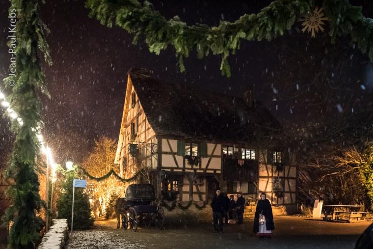 L'Ecomusée d'Alsace à la période de l'Avent et de Noël
