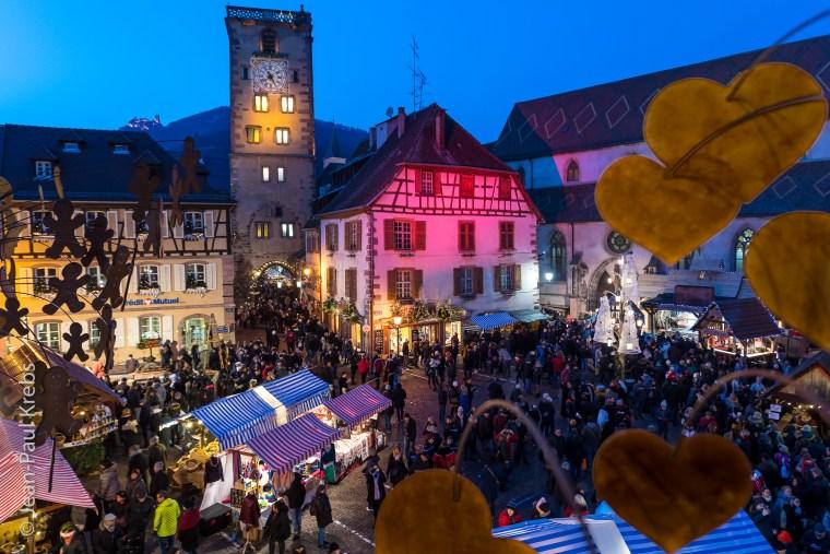 Vidéo du marché de Noël médiéval de Ribeauvillé
