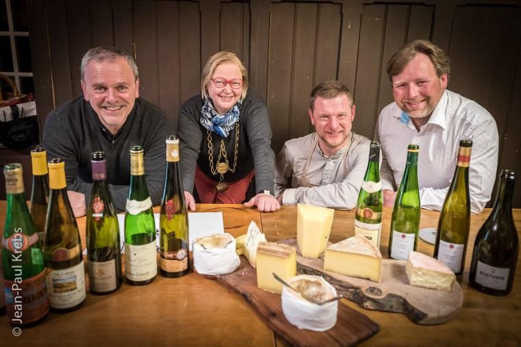Atelier vins d'Alsace et fromages avec Jean-François Antony