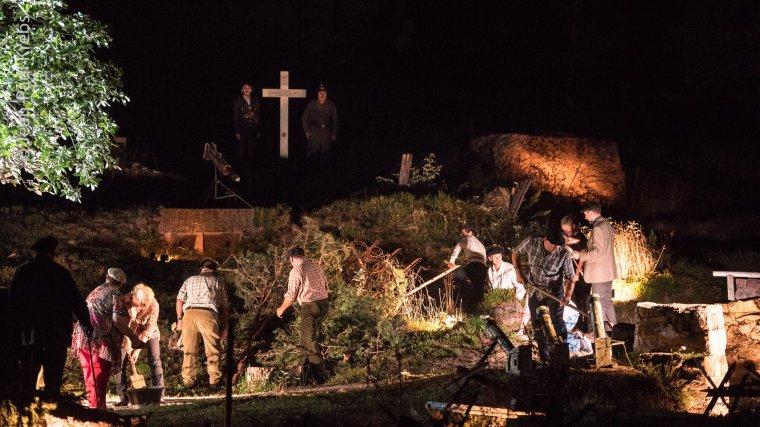 Juillet 2018, cent ans après la fin des combats, le spectacle met en scène les Chasseurs Alpins qui ont combattu au Linge mais aussi ailleurs sur les autres fronts de la Grande Guerre.
