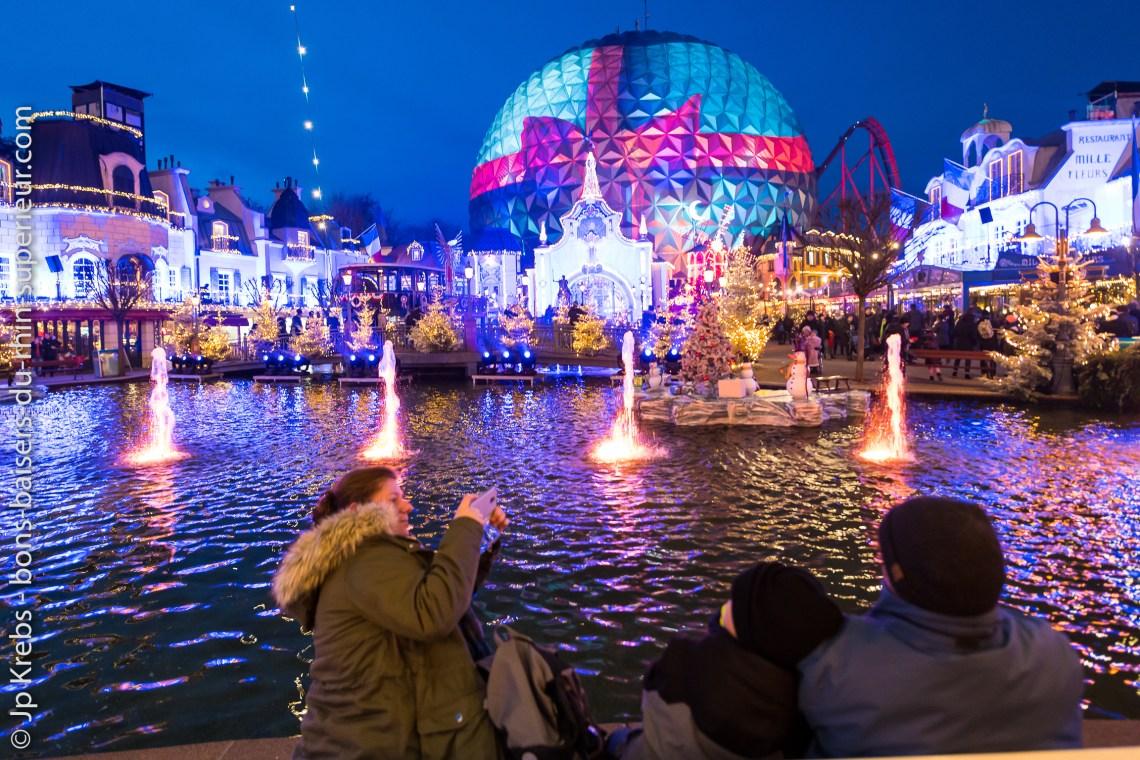 Marché de Noël à Europa Park.