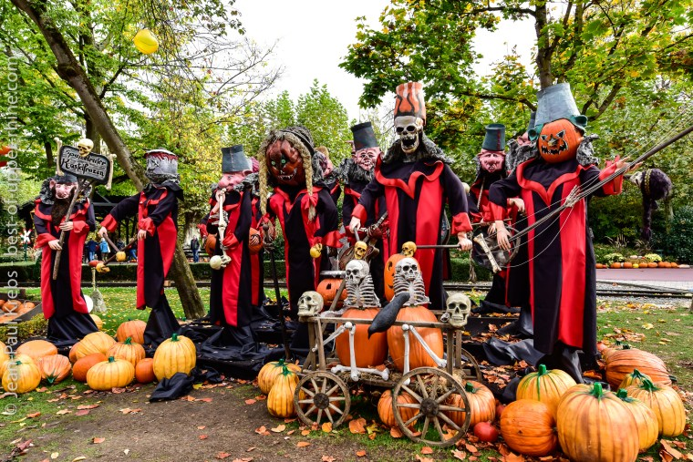 Europa-Park en habit d'Halloween, frisson garanti