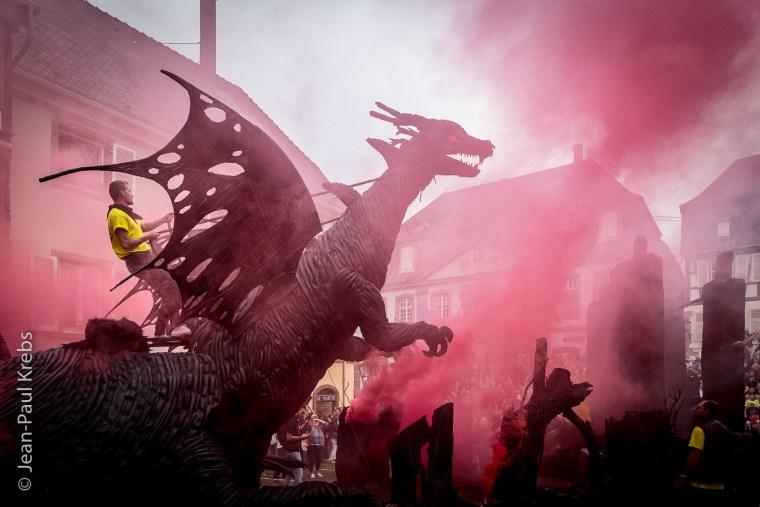 Le célèbre Dragon fut déclaré