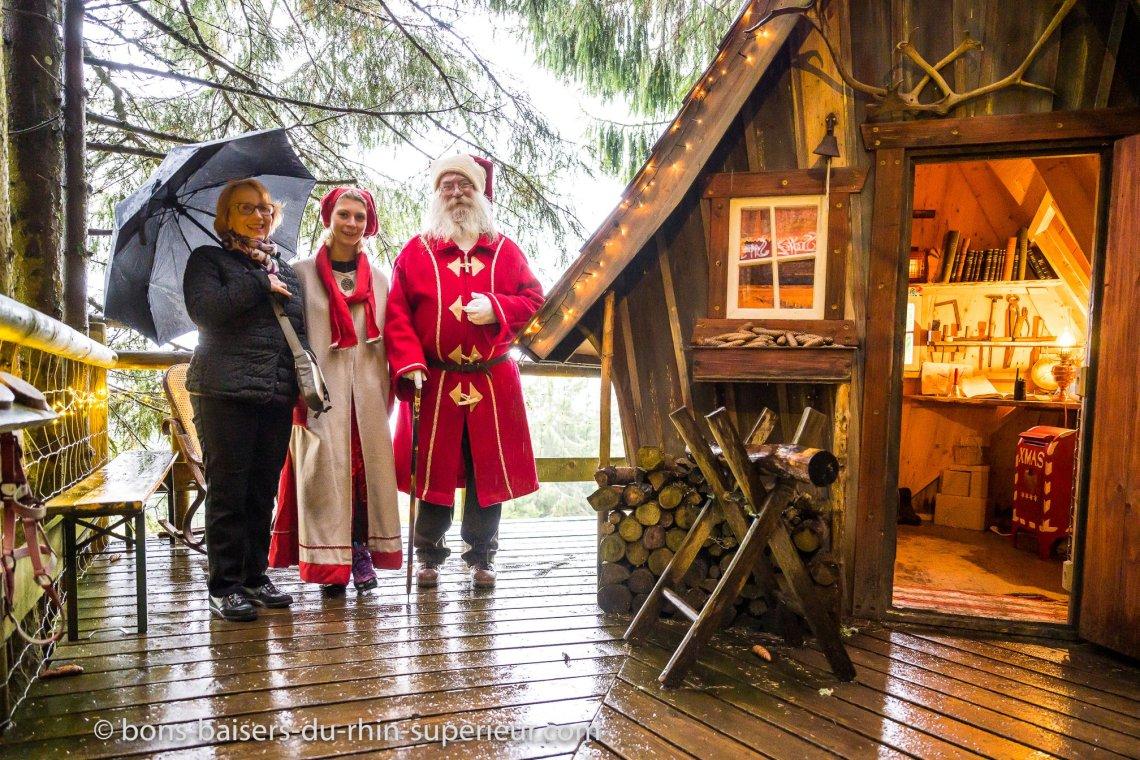 Rencontre avec le Père Noël à la Ferme aux Rennes