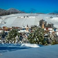 Un hiver 2021 à Riquewihr, en période de couvre-feu…