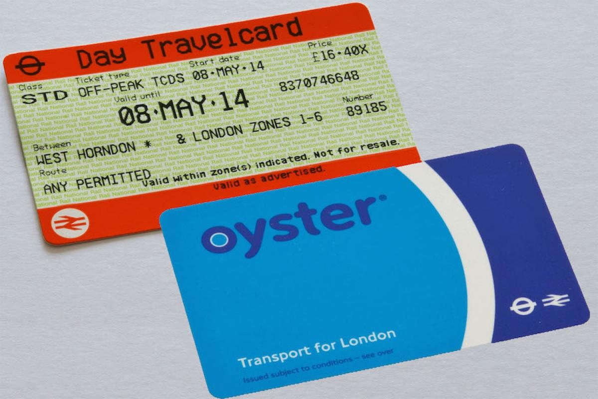 se deplacer a londres quelle carte acheter oyster card ou travelcard