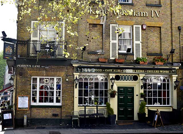 King-william-pub-gay-londres
