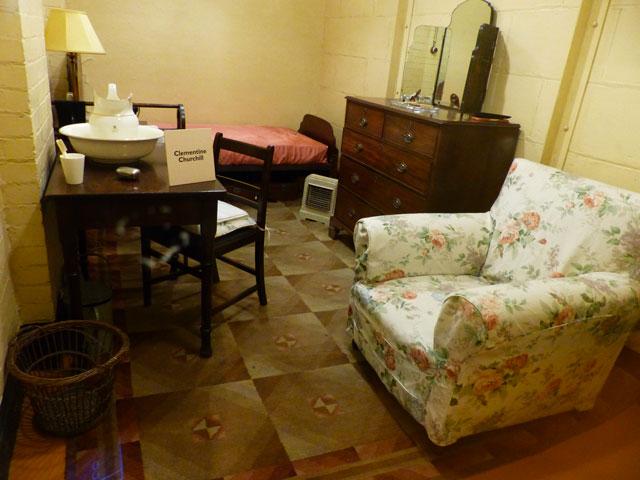 churchill-war-rooms-chambre-juliette