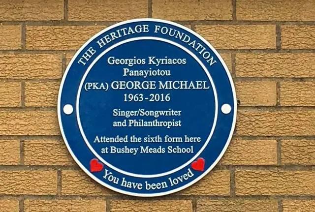 George-michael-blue-plaque