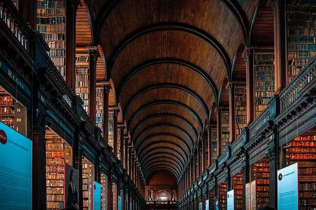 Trinity-college-bibliotheque