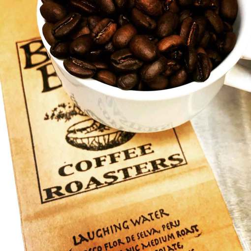 LAUGHING WATER from Bonsai Beans Coffee Roasters in Bend Oregon