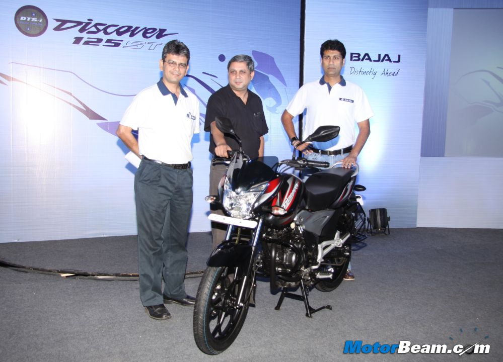 Bajaj-Discover-125ST-Launch